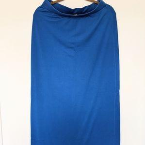 Old Navy Blue Maxi skirt